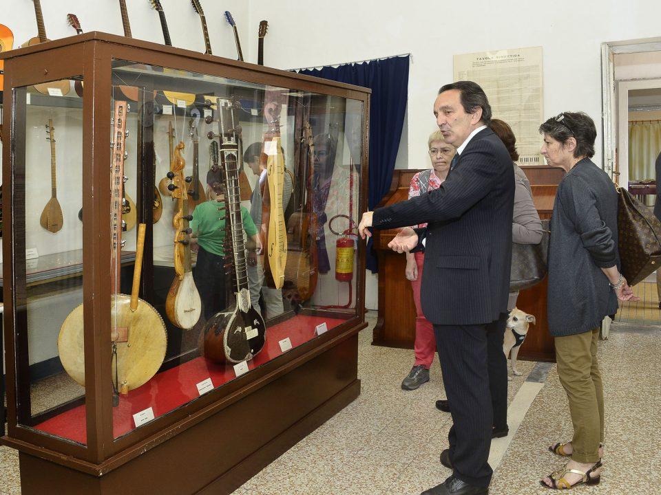 Forme del gusto, museo degli strumenti musicali